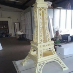 Architectural Foam Eiffel Tower Design