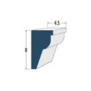 Architectural Foam Crown Moldings AAFW-535
