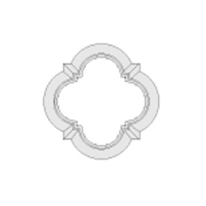 Architectural Foam Medallions AAFW-800