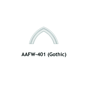 Architectural Foam Arches AAFW-401 Gothic