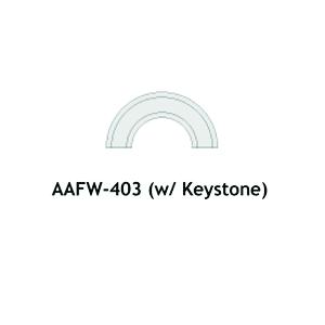 Architectural Foam Arches AAFW-403 Keystone