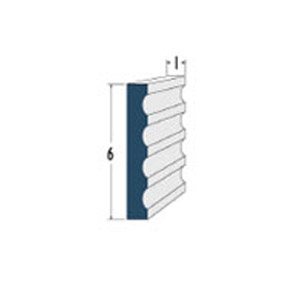 Architectural Foam Mid Bands AAFW-716
