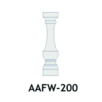 Architectural Foam Balusters AAFW-200