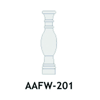 Architectural Foam Balusters AAFW-201