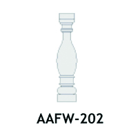 Architectural Foam Balusters AAFW-202