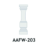 Architectural Foam Balusters AAFW-203