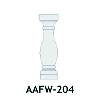 Architectural Foam Balusters AAFW-204