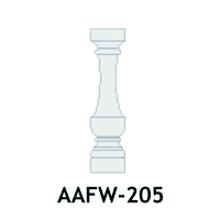Architectural Foam Balusters AAFW-205