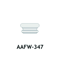 Architectural Foam Caps AAFW-347