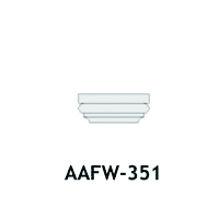 Architectural Foam Caps AAFW - 351
