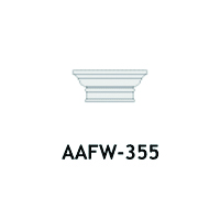 Architectural Foam Caps AAFW-355