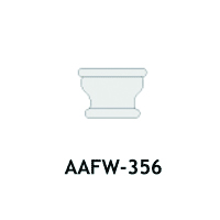 Architectural Foam Caps AAFW-356