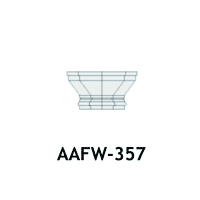Architectural Foam Caps AAFW-357