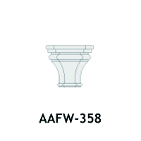 Architectural Foam Caps AAFW-358