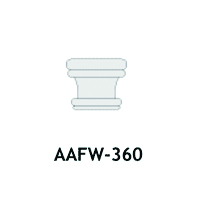 Architectural Foam Caps AAFW-360