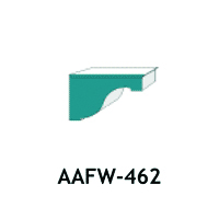 Architectural Foam Brackets AAFW - 462