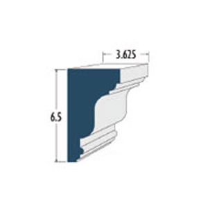 Architectural Foam Window Sills AAFW-600