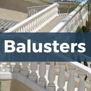Architectural Foam Balusters