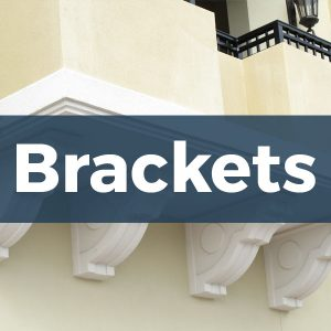 Architectural Foam Brackets