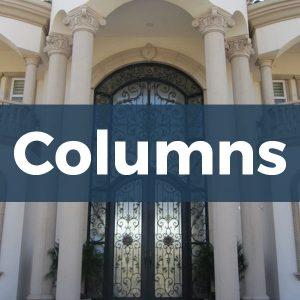 Architectural Foam Columns