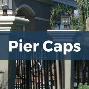 Architectural Foam Pier Caps