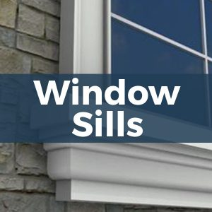 Architectural Foam Window Sills
